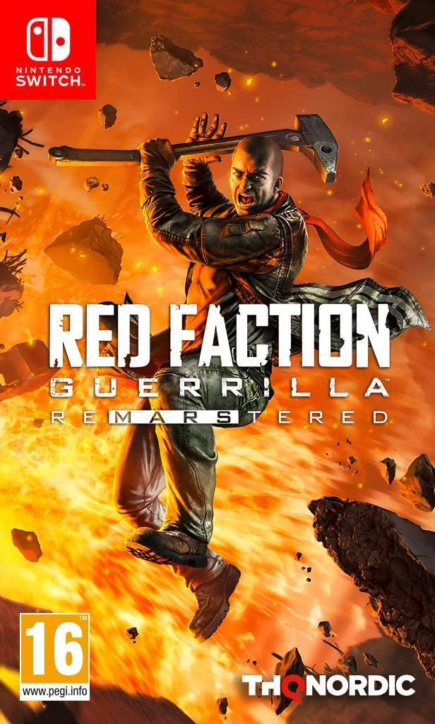 Red Faction Guerilla Re Mars Tered Nintendo Nintendo Switch