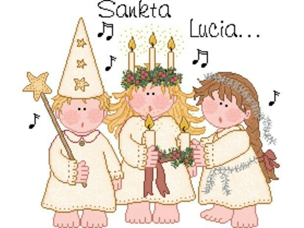Sainte Lucie 13 décembre❤