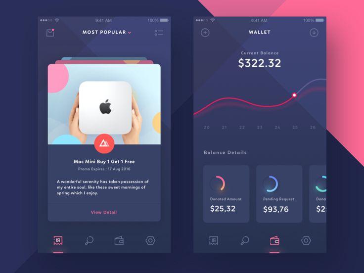 Coupon & Savings iOS App by Ghani Pradita - Dribbble