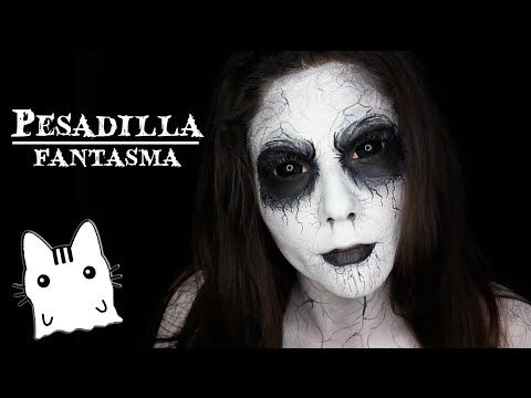 Maquillaje de Fantasma/Ghost makeup - YouTube