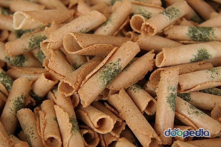 korean traditional snacks 부채 전병 한과