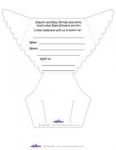 Diaper Invitation Template On Pinterest Invitation Templates Baby Shower  Diaper Invitations 236x305