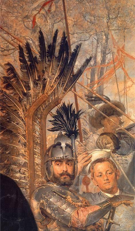 ~J    Warrior... ! Hetman of the Polish crown in the 17th century - Jan Matejko