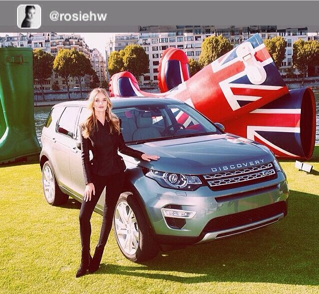 Repost from @rosiehw Great afternoon in sunny Paris launching the new Land Rover Discovery Sport. #ReadyToDiscover #DiscoverySport #LandRover  #landroverpalmbeach  #wellstoried http://www.landroverpalmbeach.com/ #ParisMotorShow