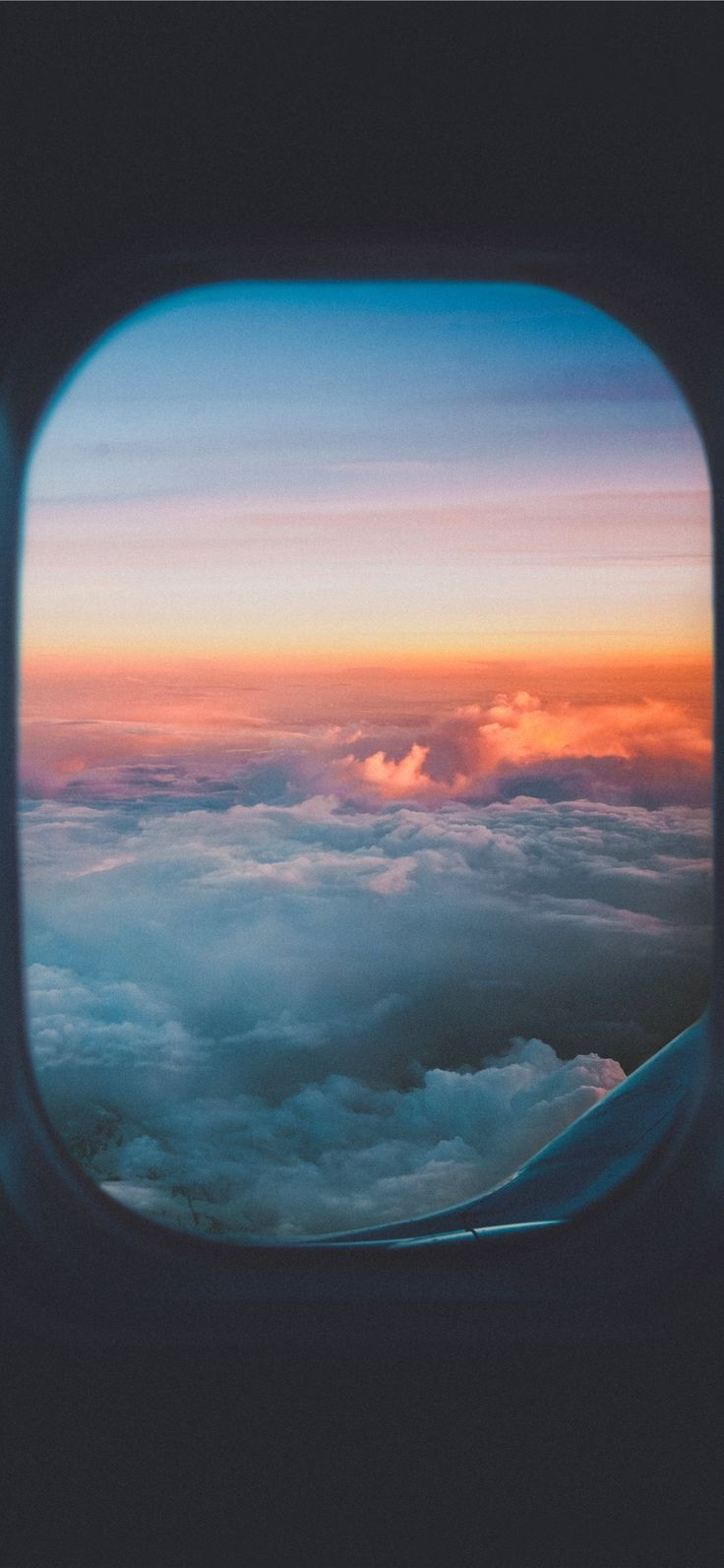 Take me to the sky #sunset #lost #cloud #plane #moment  #Wallpaper #Background #iPhoneX #iPhoneXS #iPhoneXR