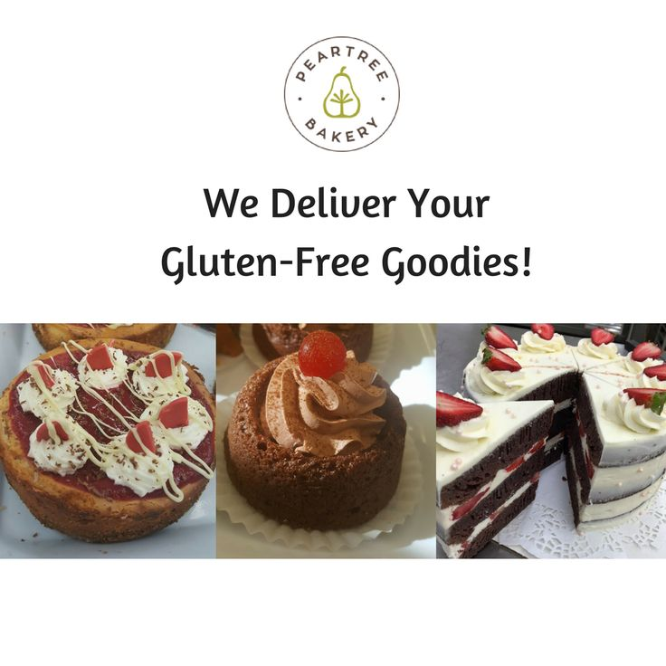 Did you know that we can deliver your Gluten-Free goodies to your door if you live in Thunder Bay, ON? Yes we can! See our website for more info! // Peartree Bakery, Thunder Bay, ON