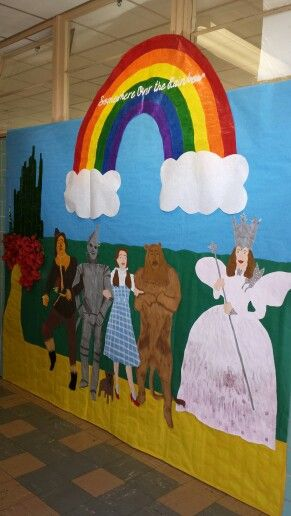 Butterfly Classroom Door Decorations ~ Wizard of oz theme for fairy tale ball school