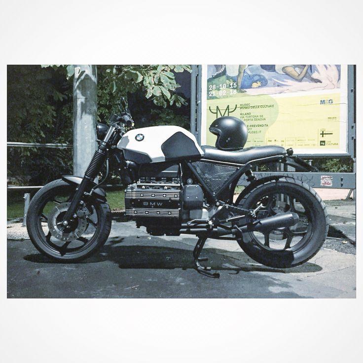 Bmw k100 caferacer scrambler motorrad