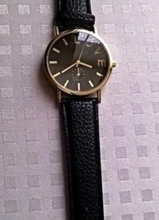 Kup mój przedmiot na #vintedpl http://www.vinted.pl/akcesoria/bizuteria/10655277-czarny-zegareczek-z-napisem-love