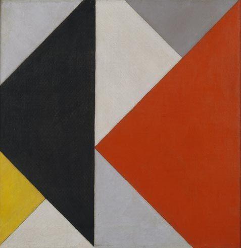 Collection Online | Theo van Doesburg. Counter-Composition XIII (Contra-Compositie XIII). 1925–26 - Guggenheim Museum