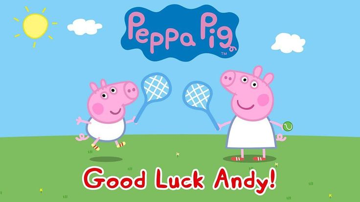 Wimbledon starts on Monday and we have a special message for Andy Murray. After losing in the first round at Queen's, Murray said it didn't mean he couldn't go on and do well at Wimbledon. He said hopefully he'd get the chance to catch up on a bit of Peppa Pig with his...