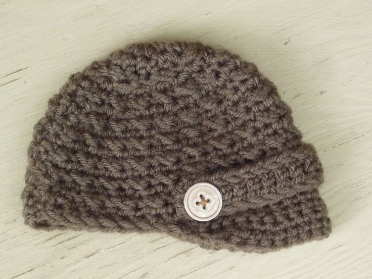 Free Crochet Boys Hat Patterns | Baby Crochet and Photo Props : HappyBabyCrochet