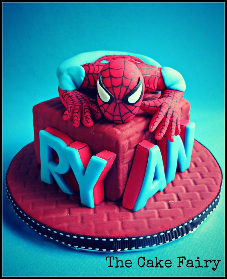 The 25 best Spiderman cake topper ideas on Pinterest Superhero