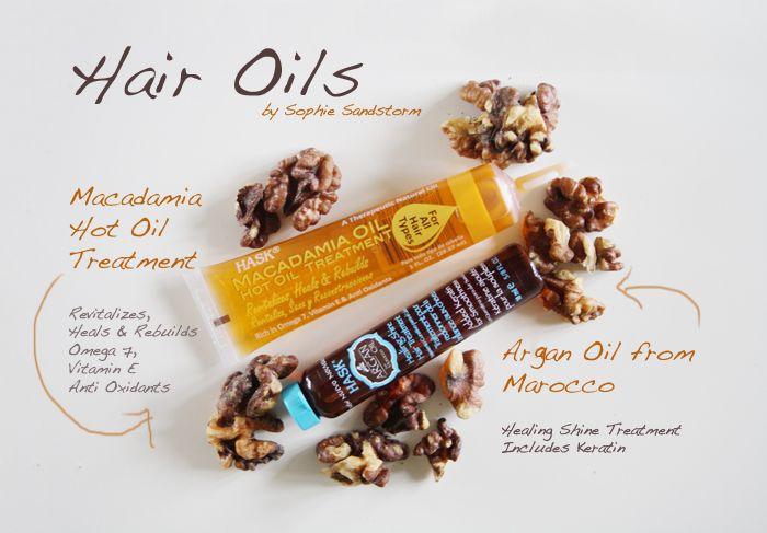 SOPHIE SANDSTORM - Hair oils for damaged hair  http://sophiesandstorm.blogspot.co.uk #hair #hairoils