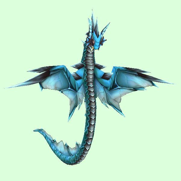 Blue Spiked Wind Serpent Serpent, Wind, Warcraft