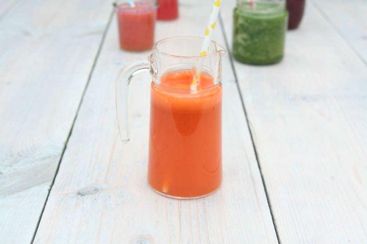 Gezond wortelsap