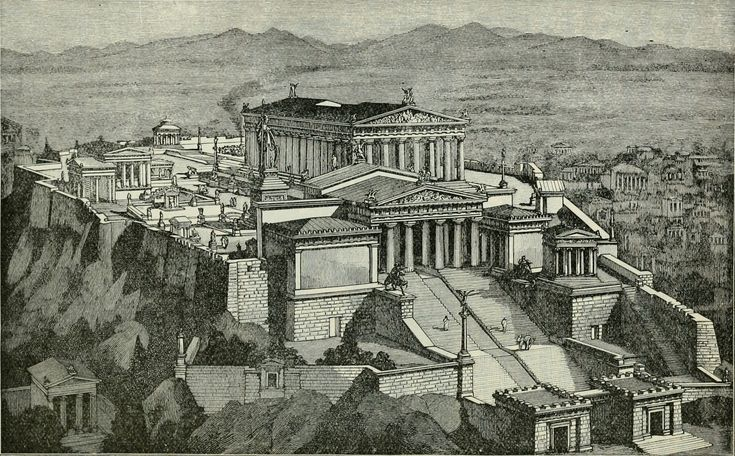 Gallery of AD Classics: Acropolis of Athens / Ictinus, Callicrates, Mnesikles and Phidias - 5