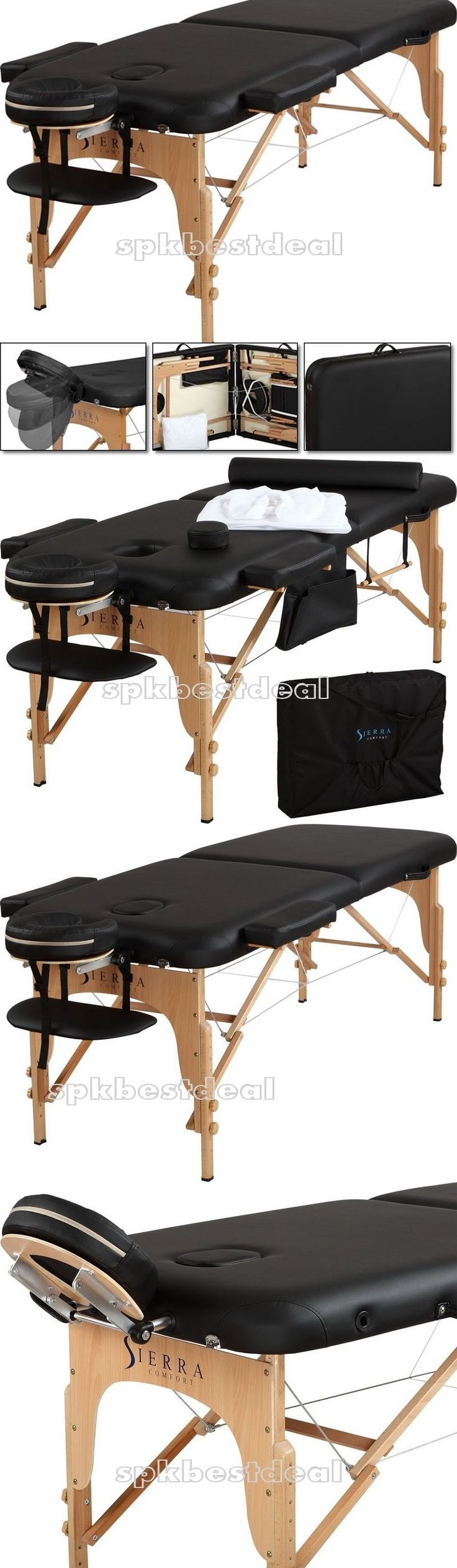 Massage Tables and Chairs: Massage Table Portable Spa Relax Health Physical Therapy Beauty Care Tools Bag -> BUY IT NOW ONLY: $196.25 on eBay!