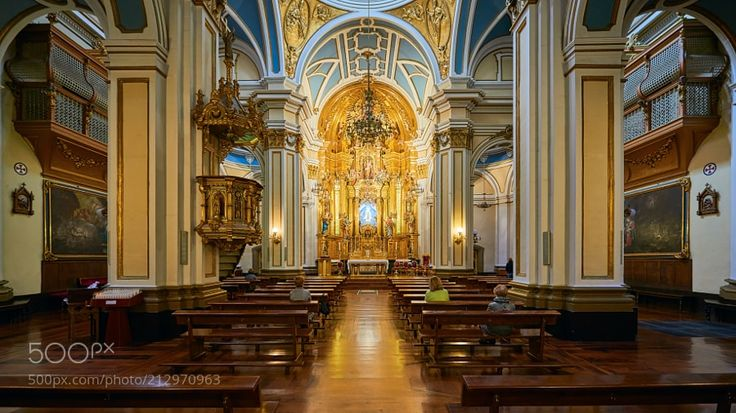 Iglesia de San Saturnino - Pamplona by neobit