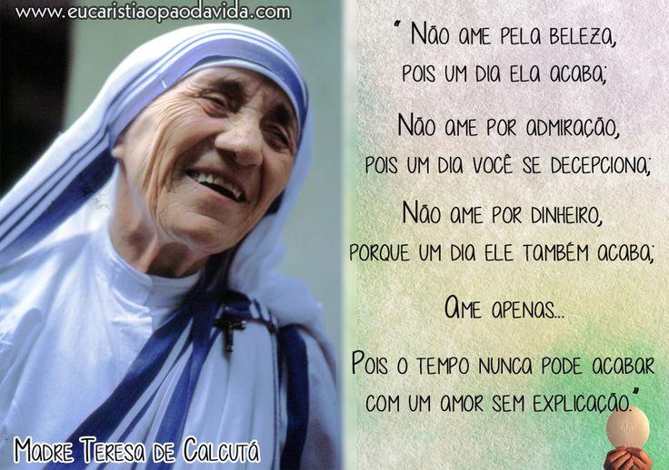 Uma Gota No Oceano Madre Teresa: 94 Melhores Imagens De MADRE TERESA DE CALCUTÁ No
