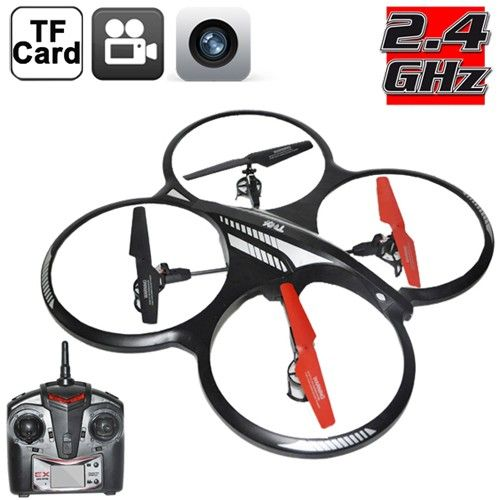 X-Drone Gshock Quadcopter with camera (0.3 MegaPixel) via 5 Stars Gadgets. Click on the image to see more!