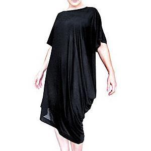 Draped T-Dress Sewing Pattern | You Sew Girl!