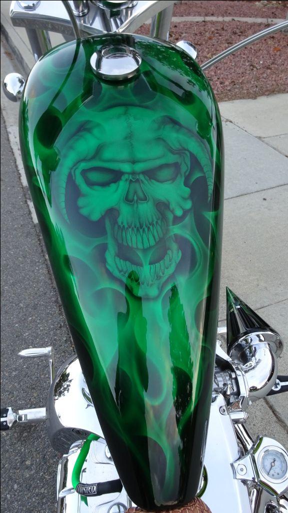 2007 K9 Big Dog motorcycle