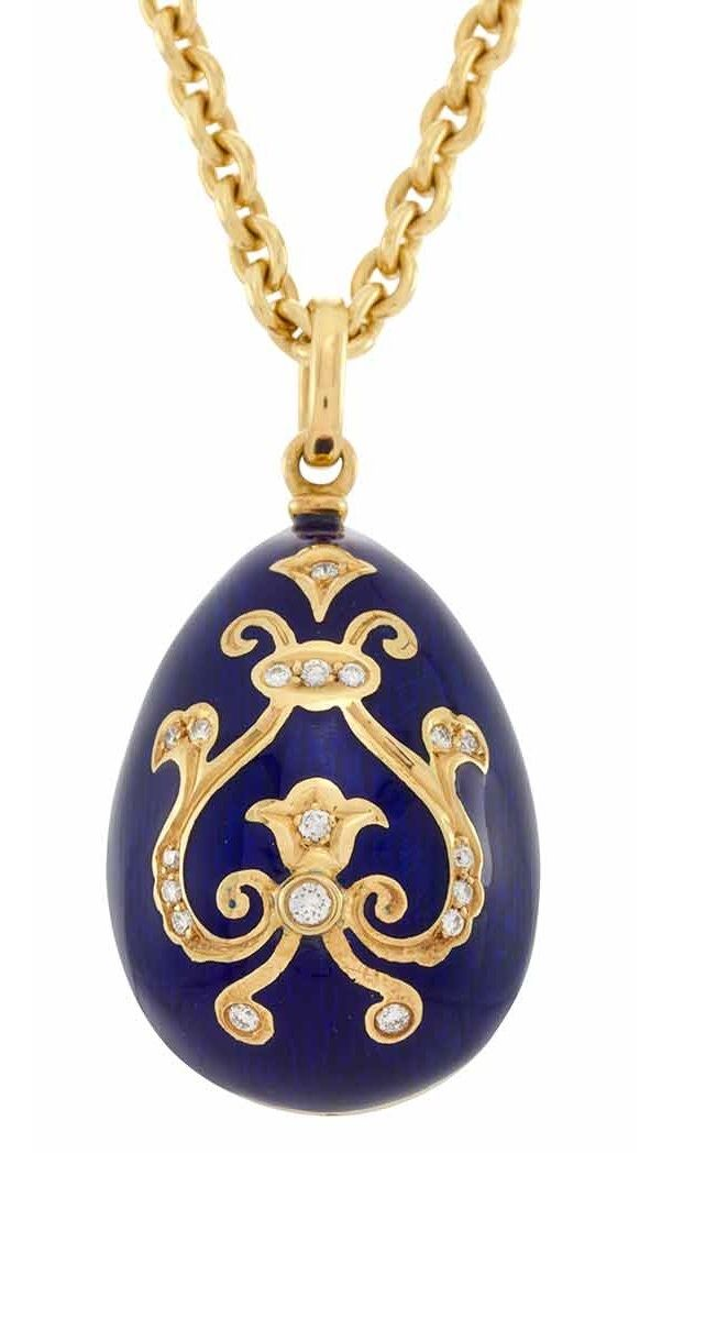 42 best faberge egg pendants images on pinterest huevos de faberg what do you think of this gold enamel and diamond egg pendant necklace aloadofball Gallery