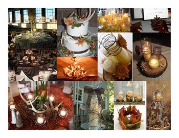 The Vine Wrapped Candles, Floating Candle, Leave Wrapped Candles Are Ok.  Anything Involving Antlers. Hunting Theme Weddings, Hunting Wedding,  Camouflage ...