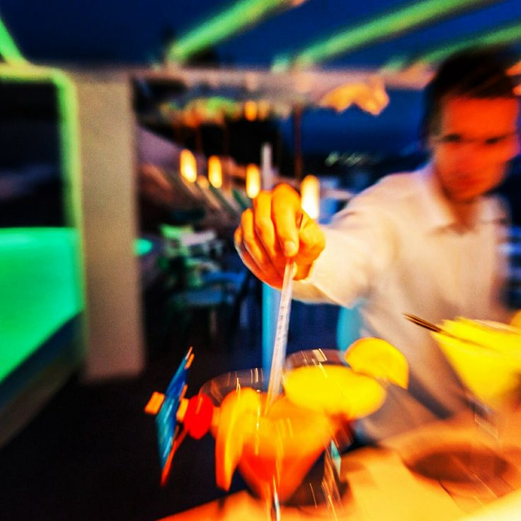 A nice refreshing cocktail anyone? | Megalochori, Santorini
