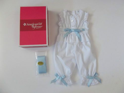 american-girl-doll-rebeccas-pajama-outfit-w-box-never-played-with-retired