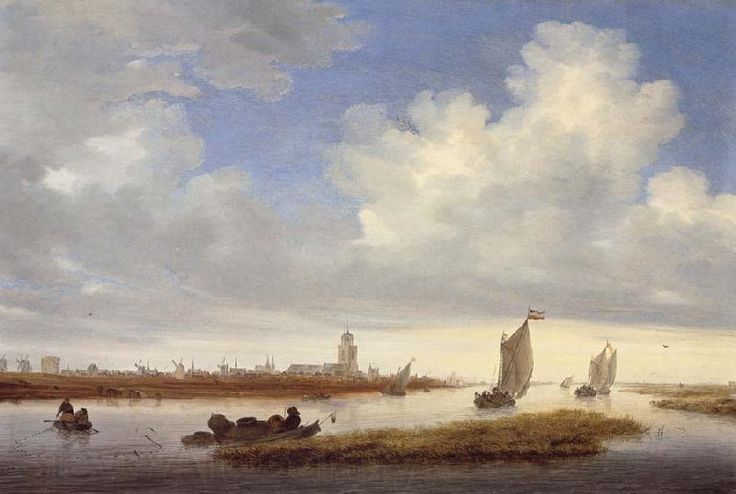 Salomon van Ruysdael, A View of Deventer.