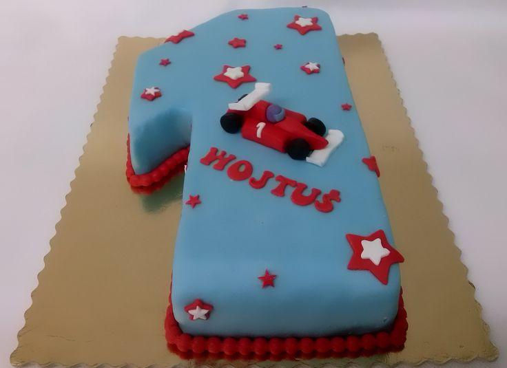 Tort cyfra z wyścigówką