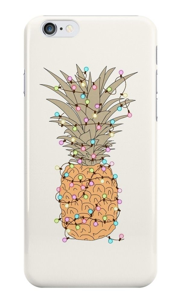 Our Pinapple Christmas Lights Phone Case is available online now for just $8.09. Check out our super cute Pinapple Christmas Lights phone case, available for iPhone, iPod & Samsung models. Material: Plastic, Production Method: Printed, Weight: 28g, Thickness: 12mm, Colour Sides: Clear, Compatible With: iPhone 4/4s | iPhone 5/5s/SE | iPhone 5c | iPhone 6/6s | iPhone 7 | iPod 4th/5th Generation | Galaxy S4 | Galaxy S5 | Galaxy S6 | Galaxy S6 Edge | Galaxy S7 | Galaxy S7 Edge | Galaxy S8