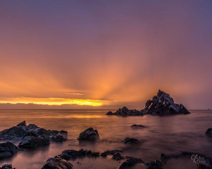Pipers Lagoon Sunrise , Nanaimo - Vancouver Island