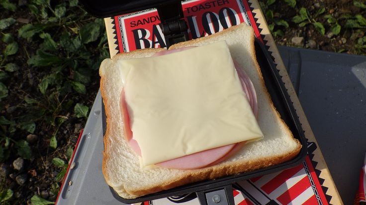 solocamp:レビュー:サンドイッチトースター ニューバウルー ダブル