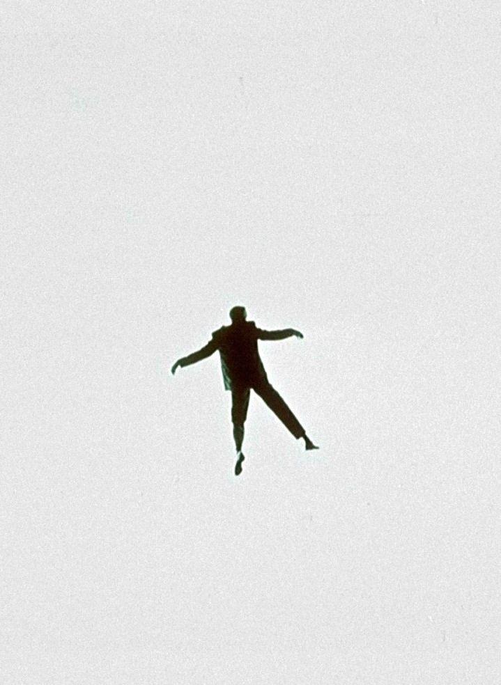 Jimmy Stewart in Vertigo's nightmare sequence (1958, dir. Alfred Hitchcock)