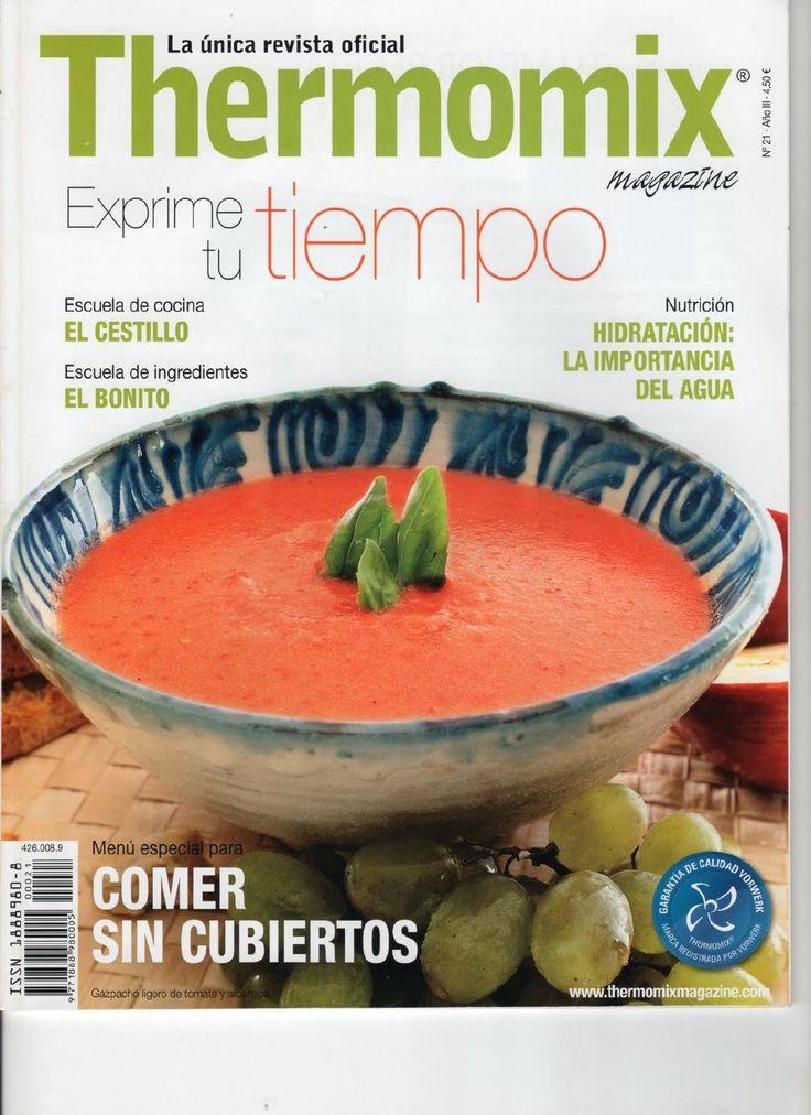 Rev. Thermomix magazine nº 21. Comer sin cubiertos