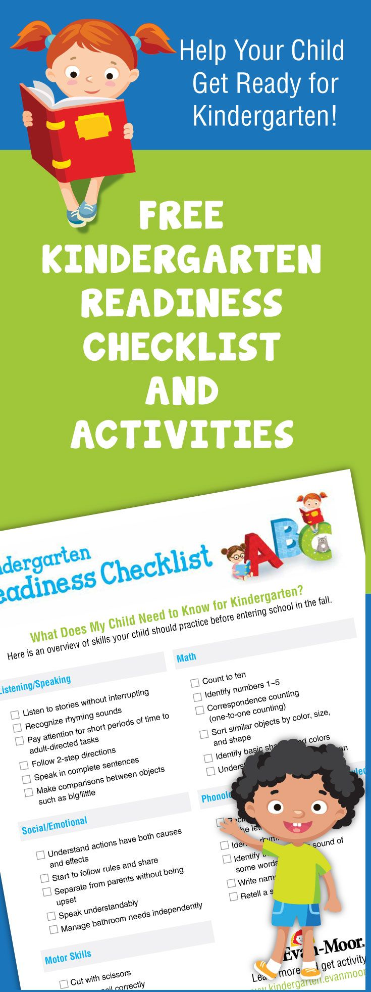 Best 25 Kindergarten Checklist Ideas On Pinterest