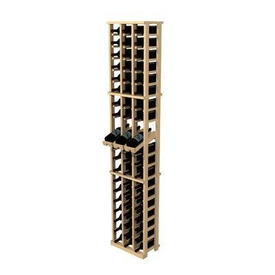 Rustic Pine 60 Bottle Wine Rack by Wine Cellar Innovation. $99.96. CP3DS Features: -Wine rack.-60 Bottle capacity.-Works best if the rack is wall mounted.-Add other products and accessories to complete entire cellar. Construction: -Pine wood construction. Color/Finish: -Distressed finish. Collection: -Rustic Pine collection.