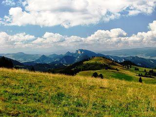 Szczawnica na granicy Pieniny National Park: Boże Ciało weekend w górach