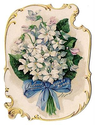 *The Graphics Fairy LLC*: Antique Ephemera - Amazing Romantic Violets Perfume Ad