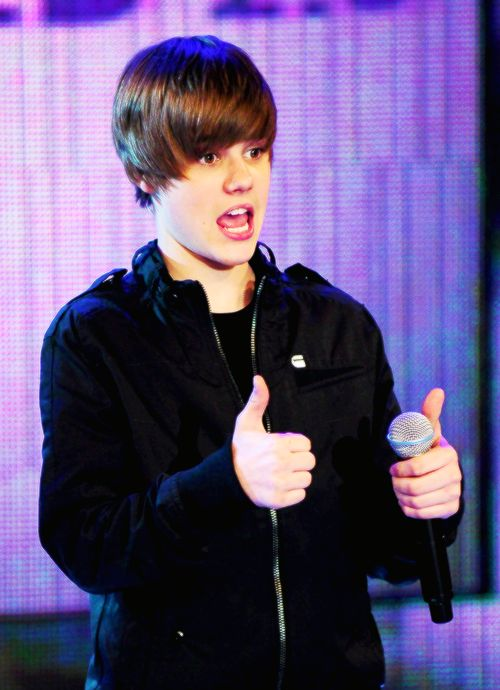 I miss silly justin.... haters brought him down to depressed Justin. :'(