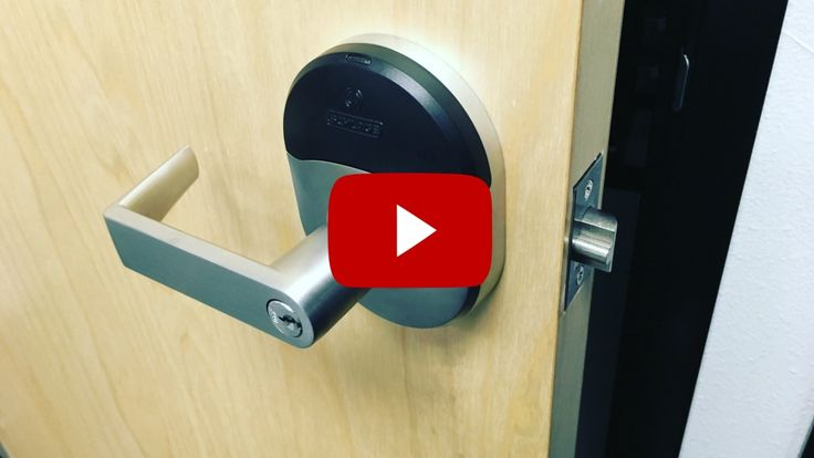 Digital Locks For Commercial Buildings Schlage NDE 80 Lock #silvereaglelocksmith