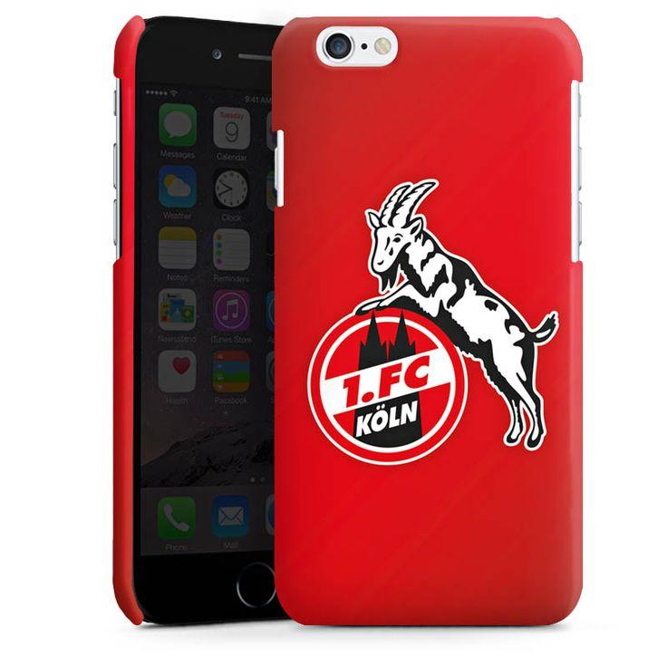 1. FC Köln rot für Premium Case (glänzend) für Apple iPhone 6 von DeinDesign™