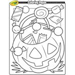 Halloween Coloring Pages from Crayola