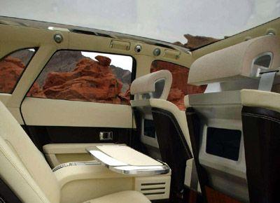 Lincoln Aviator Concept interior