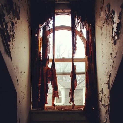 Window In An Abandoned Place In Atlanta.