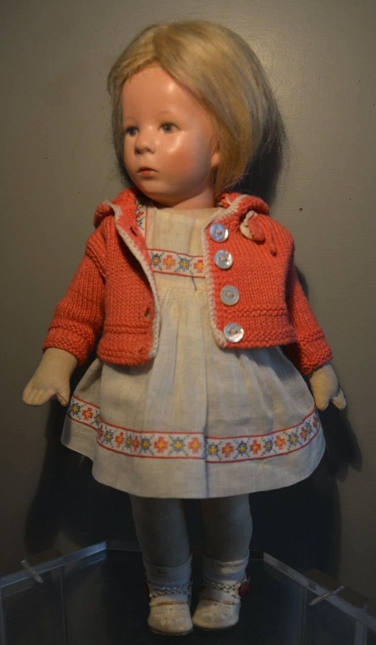 Alte Käthe Kruse Puppe!!! Stoffkopf!!! 1940-1950!!!   eBay