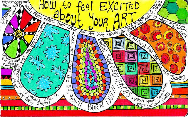 How to Feel Excited About Your Art
